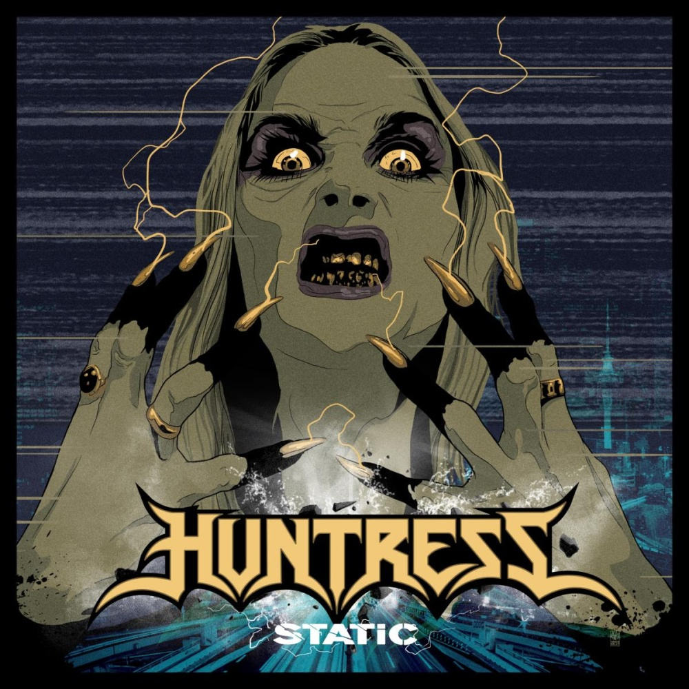 huntress-static-album-cover
