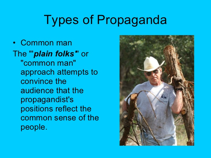 propaganda common man
