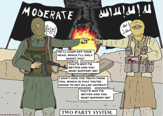 Jihadi Colin two party